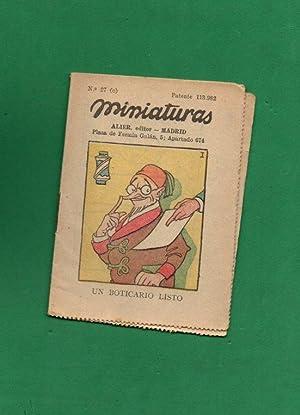 MINIATURAS. Nº 27 C. [Colección Miniaturas. Núm.