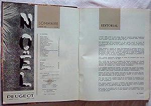 Courrier des Automobiles Peugeot, suivi de Aciers et outillage Peugeot, le Bulletin (Année 1968): ...