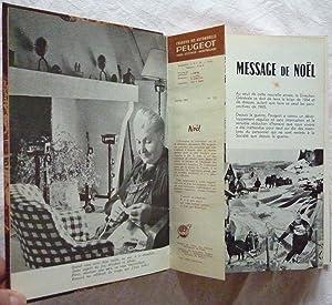 Courrier des Automobiles Peugeot, suivi de Aciers et outillage Peugeot, le Bulletin (Année 1965): ...