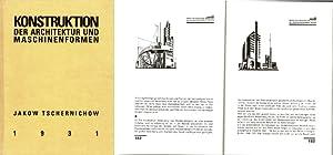 Konstruktion der Architektur und Maschinenformen. Mit einer Einleitung von Leonid Demjanow. Aus dem...
