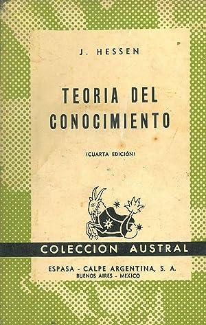 TEORÍA DEL CONOCIMIENTO.: HESSEN, J.