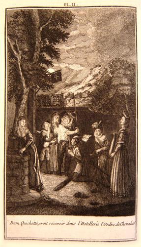 Image du vendeur pour Les principales aventures de l'admirable Don Quichotte mis en vente par L'intersigne Livres anciens