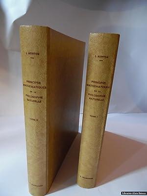 Principes Mathématiques de la philosophie naturelle: NEWTON (Isaac)