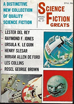 SCIENCE FICTION GREATS: No. 17, Spring 1970: Science Fiction Greats