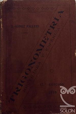 Trigonometría: José Gómez Pallete