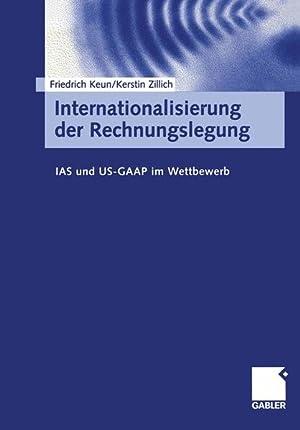 Bild des Verkäufers für Internationalisierung der Rechnungslegung zum Verkauf von Bookfarm