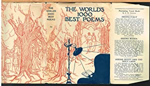 WORLD'S ONE THOUSAND BEST POEMS, Volume Seven: BRALEY, BERTON, Editor-In-Chief.