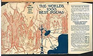 WORLD'S ONE THOUSAND BEST POEMS, Volume Nine: BRALEY, BERTON, Editor-In-Chief.