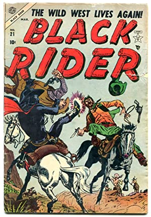 BLACK RIDER #21-1954-two-gun kid by george tuska-GOLDEN AGE- vg-