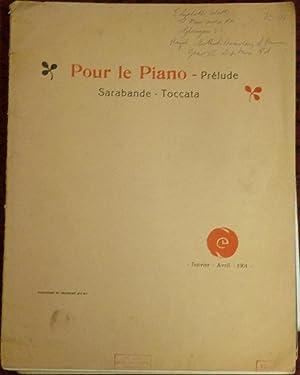 Pour Le Piano - I Prelude, II: Debussy