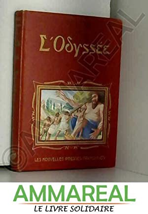 Image du vendeur pour L'Odyssée d'Homère, adaptée pour la jeunesse par M. Bonnard. Illustrations de Jacques Roubille mis en vente par Ammareal