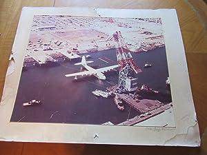 "Original Photograph- Hk-1 Hercules (Aka ""Spruce Goose""): Photograph By George"