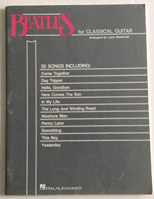 The Beatles For Classical Guitar: Beekman, Larry