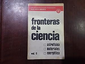 Fronteras de la ciencia. Vol II: Miguel Ángel Hidalgo