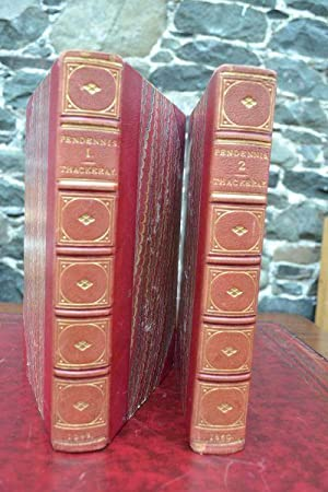 The history of Pendennis. His fortunes and: THACKERAY (William Makepeace).