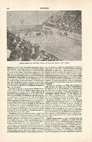 LAMINA ESPASA 26940: Juegos Olimpicos de Melbourne: Varios
