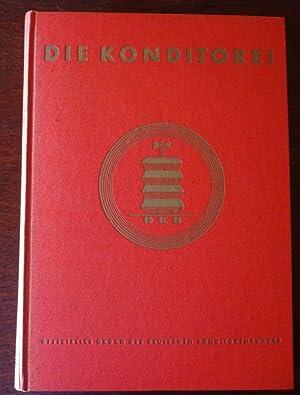 Die Konditorei. Offizielles Organ des Deutschen Konditorenbundes. 7. Jahrgang 1952 - komplett.: ...