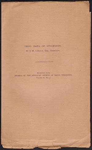 Trial Data of Steamships