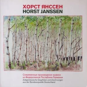 Horst Janssen, Nowosibirsk Gebietsgemäldegalerie. Signiertes Exemplar. Vom 17. September bis 25 ...
