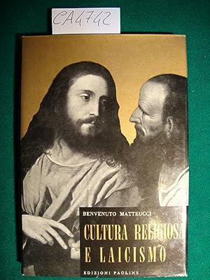 Cultura religiosa e laicismo (Pregiudizi): Matteucci Benvenuto