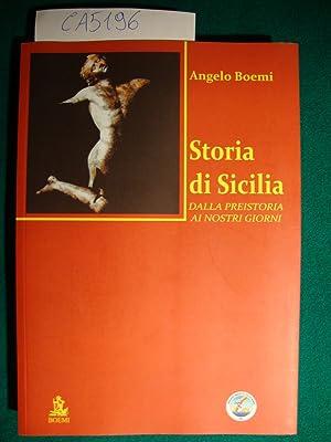 Storia di Sicilia - Dalla preistoria ai: Boemi Angelo