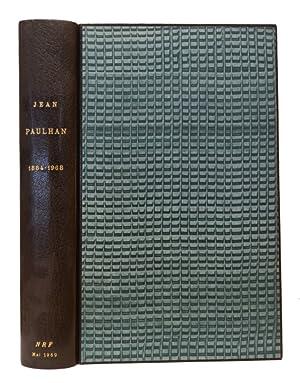 Jean Paulhan (1884-1968). Témoignages - L' uvre -: PAULHAN]
