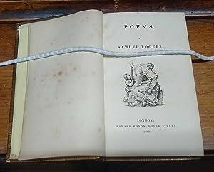 Poems: Rogers, (Samuel)