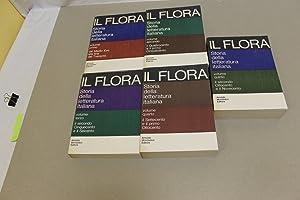 Storia della letteratura italiana - 5 volumi: Francesco Flora