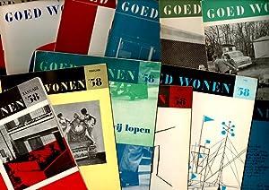 Jaargang 1958. Nrs.1 t/m 12. Maandblad Voor: Goed Wonen. 1958.
