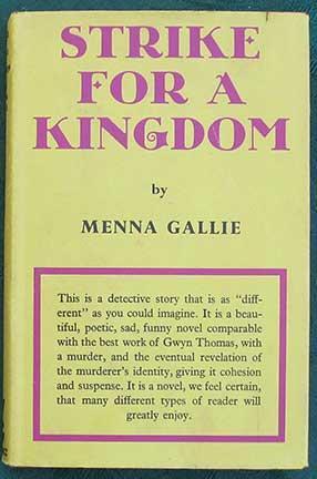 Strike For A Kingdom.: Gallie (Menna)