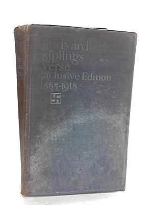 Rudyard Kipling's Verse Inclusive Edition 1885-1918: Kipling,rudyard
