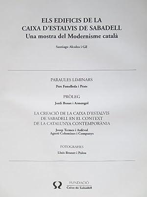 Els Edificis de la Caixa D'Estalvis de Sabadell: Una mostra del Modernisme català: Santiago ...