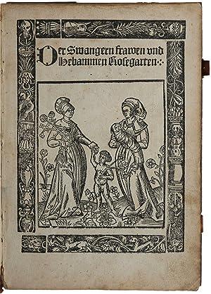 Der swangern Frawen und hebammen roszgarten: RÖSSLIN, Eucharius