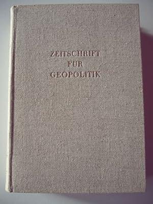 Zeitschrift für Geopolitik. XXVI. (26.) Jahrgang 1955.: Pfeffer, Prof. Dr. K.H. (Hg.)