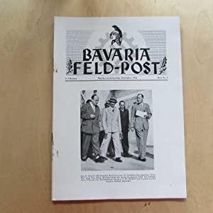 Bavaria Feld-Post (3. Jahrgang, Heft Nr. 9): Fellheimer, M. J. und Bavaria Filmkunst GmbH: