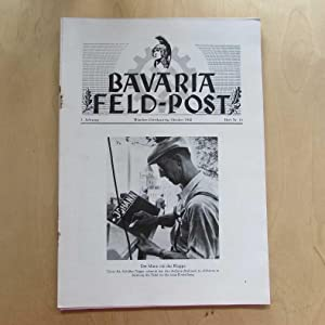 Bavaria Feld-Post (3. Jahrgang, Heft Nr. 10): Fellheimer, M. J. und Bavaria Filmkunst GmbH: