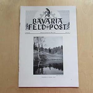 Bavaria Feld-Post (4. Jahrgang, Heft Nr. 3): Fellheimer, M. J. und Bavaria Filmkunst GmbH: