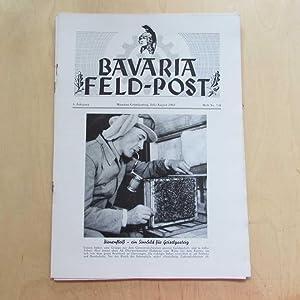 Bavaria Feld-Post (4. Jahrgang, Heft Nr. 7/8): Fellheimer, M. J. und Bavaria Filmkunst GmbH: