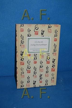Farbige Pinselzeichnungen (Insel-Bücherei Nr. 636): Ch i Pai-shih: