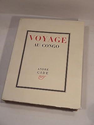 Voyage au Congo, suivi du Retour du: GIDE (André), ALLEGRET