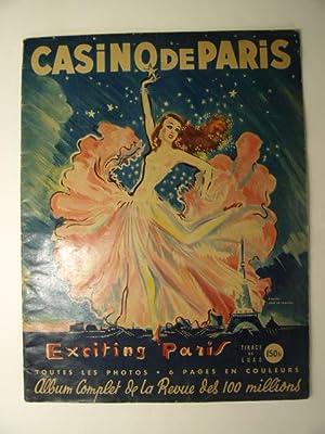 Exciting Paris. Album complet de la revue: Casino de Paris