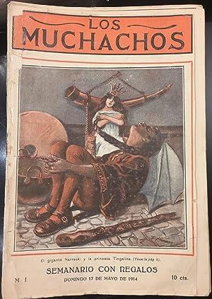 Los Muchachos. Semario. Revista juvenil. 1914 -1922