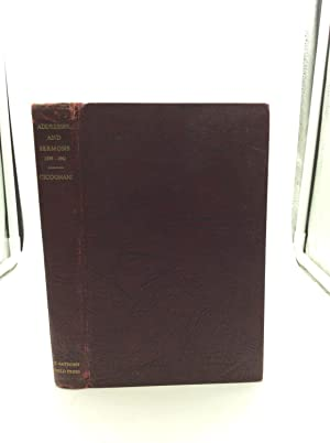 ADDRESSES AND SERMONS (1938-1942)