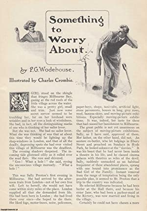 Something to Worry About. An original article from the Strand Magazine, 1913.