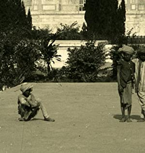 India Agra Taj Mahal Gardens Old Stereo Photo Kurt Boeck 1906: Kurt BOECK