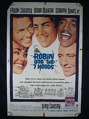 ROBIN & THE 7 HOODS-1964-POSTER-FRANK SINATRA-RAT PACK FR
