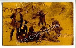 ROBERT EDESON-THE SCARLET WEST-ARCADE CARD-1920 G