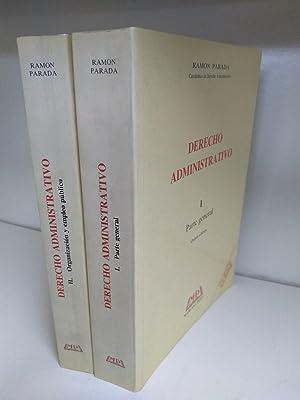 Derecho administrativo. 2 tomos: Ramon Parada