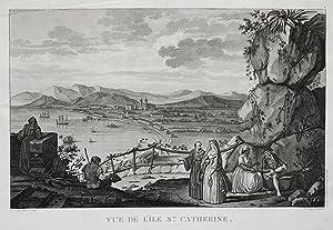 Gesamtansicht, Blick auf den Ort.: Brasilien ( Brazil ): St. Catharines:
