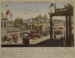 "TA., Altstadt, ""Der Plaz Namchas zu Lahore"".: Pakistan: Lahore:"